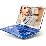 Portable DVD Player 17in DVD Seeding Machine Hand Held EVD Blue Light VCD for Home Shadow Desk Small Screen Student…