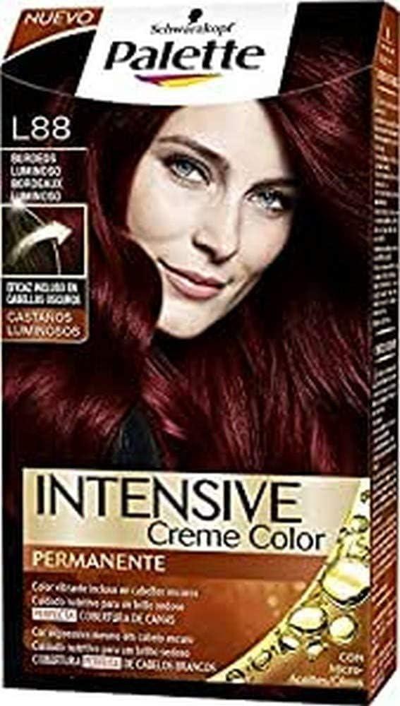 Palette Intense - Tono L88 Burdeos Luminoso - Coloración ...