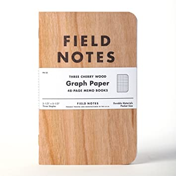 Amazon.Com : Field Notes Cherry Graph 3-Pack : Office Products