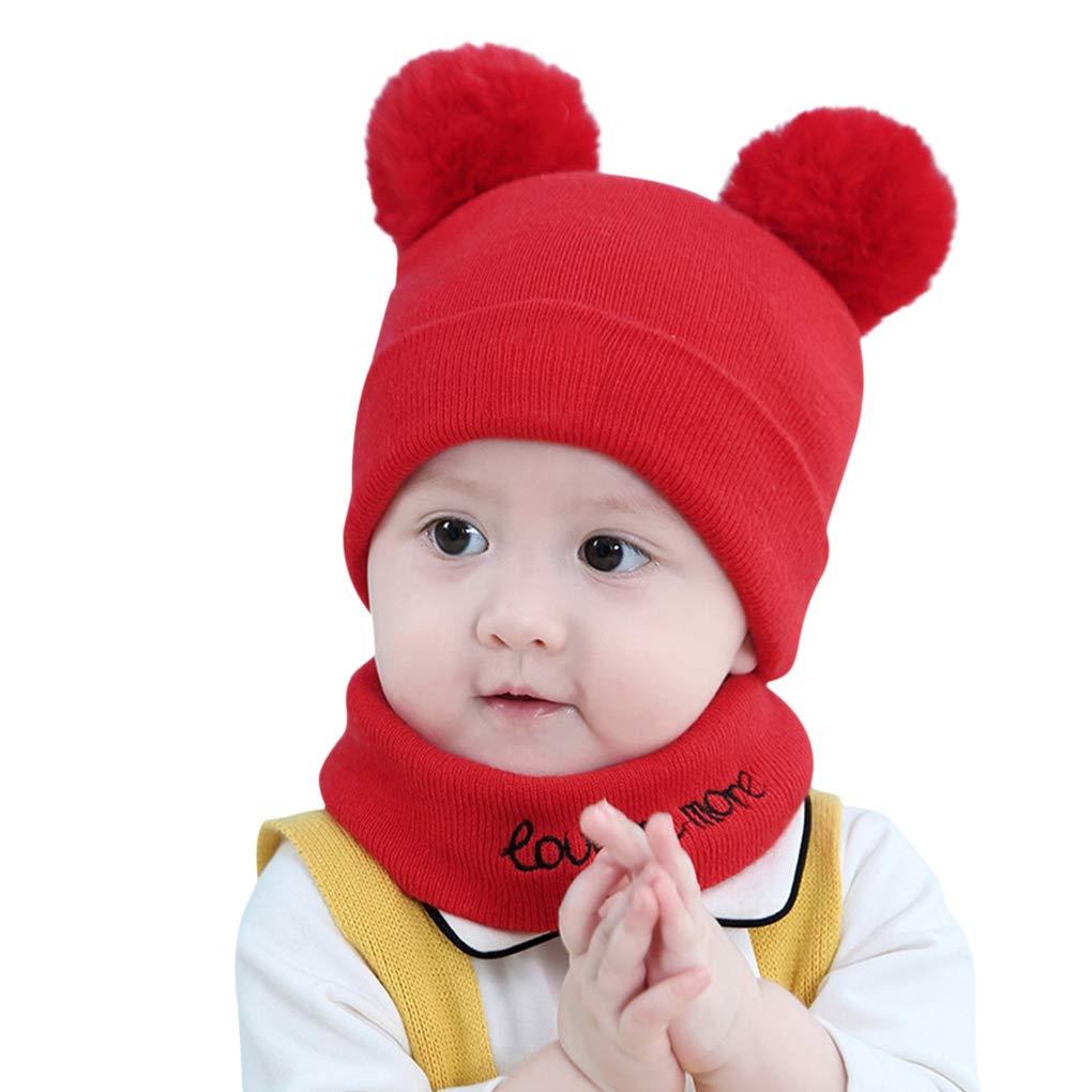 JIAHG HAT ベビーボーイズ  レッド B07JLYGZC5