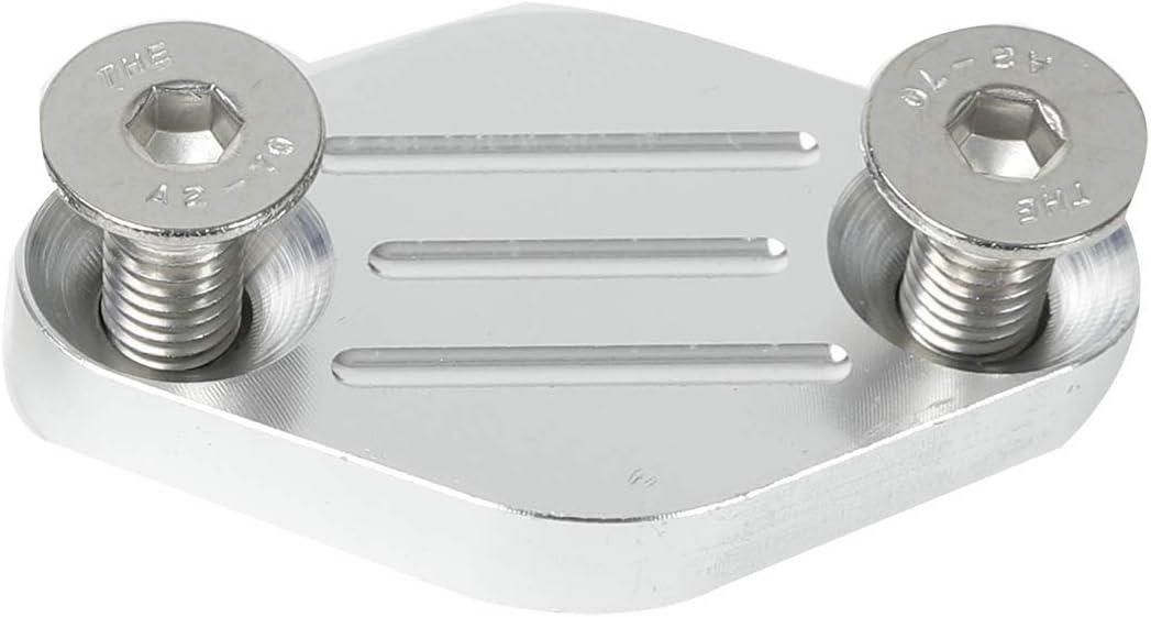BETTERCLOUD LS1 EGR Smog Air Cover Exhaust Block Off Plate Set Fit for LSX Camaro LS LQ4 5.7L 1998-2002 Z28 Trans Am