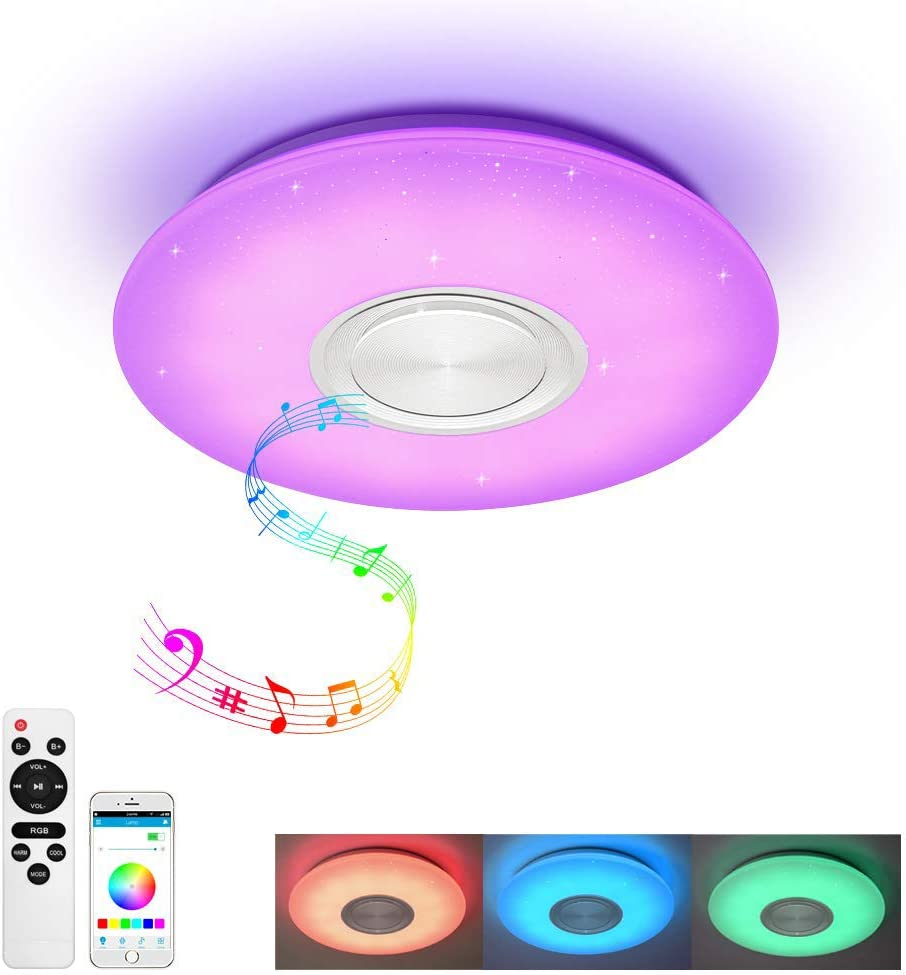 YYDBG Luces De Techo LED Smart Music Control De Lámpara De