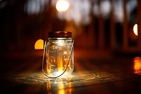 lighting jar. amazoncom 3 pack solar mason jar lid insert led light for glass jars and garden decor lights patio lawn u0026 lighting c