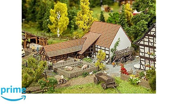 Faller FA 232371 País económica Edificios con accesorios: Amazon.es: Juguetes y juegos
