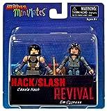 Hack / Slash Revival Comic Book Heroes Minimates Cassie Hack & Em Cypress 2