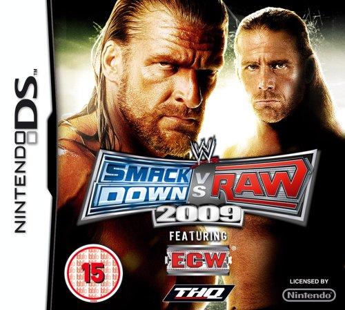 WWE SMACKDOWN VS RAW 2009 (NINTENDO - Wwe Game 2009
