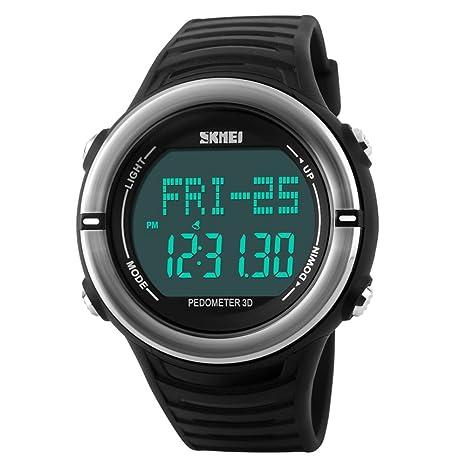 Reloj para hombre 1111 Digital con pulsómetro y función de deportes