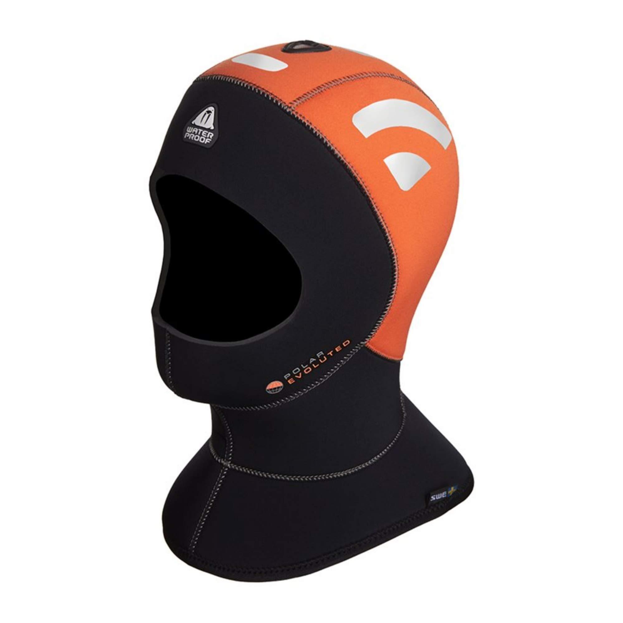 Waterproof H1 5/10mm High Visibility Polar Evo Hood, X-Small by Waterproof