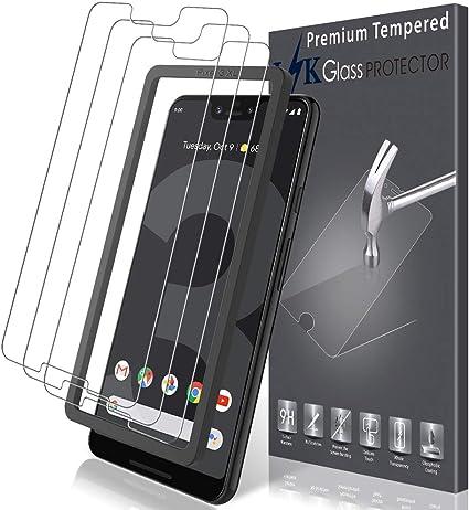 LK Protector de Pantalla para Google Pixel 3 XL Vidrio Templado ...