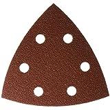 Bosch SDTR082 80 Grit Detail Sander Abrasive Triangles for Wood (25-Pack), 3-3/4-Inch
