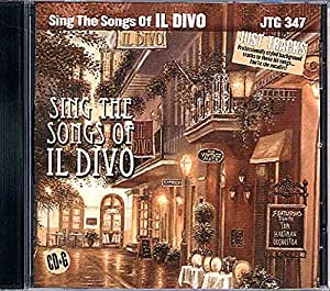 Various artists sing the songs of il divo karaoke - Il divo italian songs ...