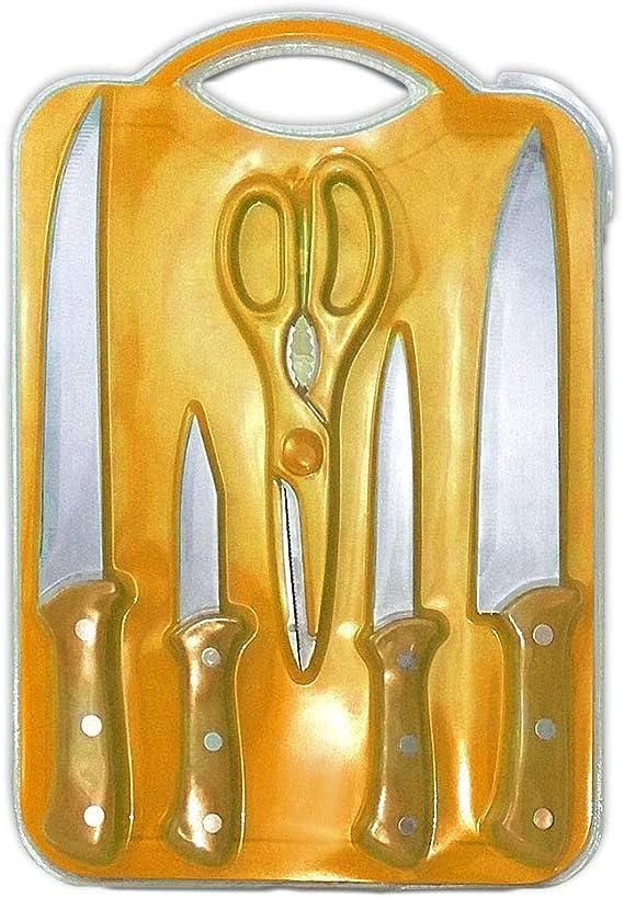 Compra BUYGIFTS Cuchillos | Set de Cuchillos | Pack Set de 4 ...