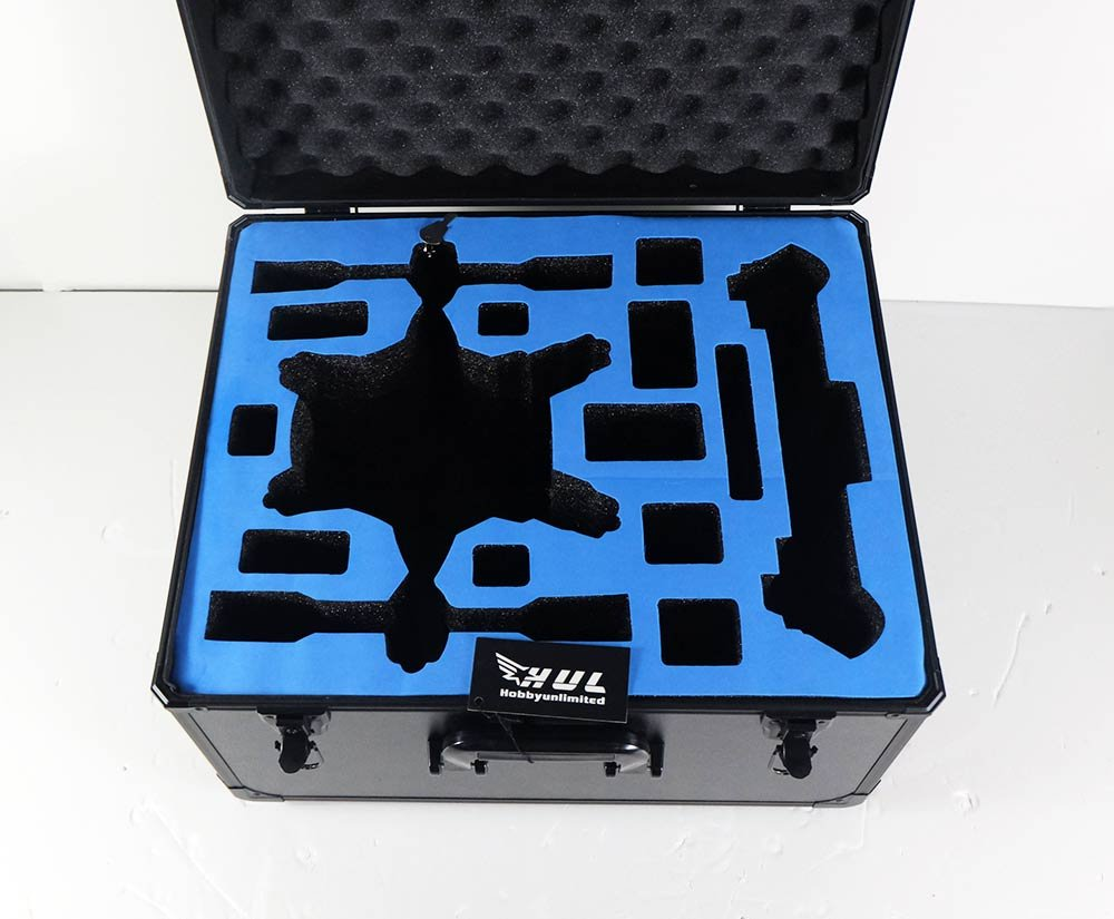 HUL Aluminium Carrying Case for Yuneec Typhoon H Drone with Foam Inserts