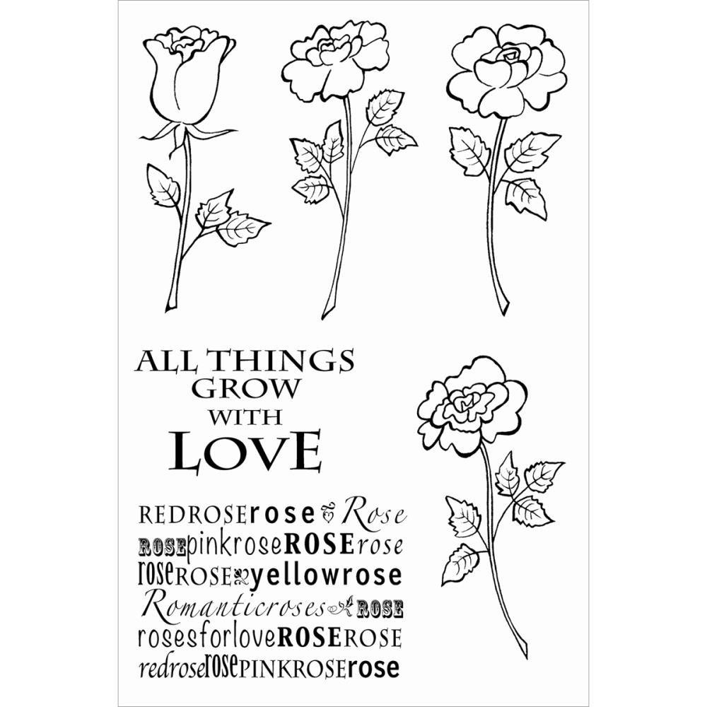 Woodware Woodware Woodware Clear Stamps 4 X6  Sheet-Four Rosas B00BHLTM3W | Hat einen langen Ruf  | Schöne Kunst  | Fairer Preis  87bbdc