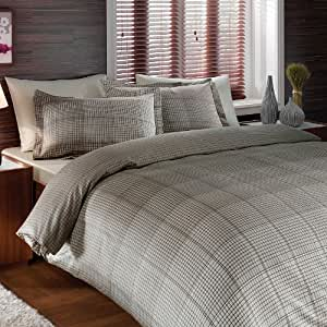 Brielle Bamboo Graph Down Alternative Comforter, Made in USA, Full/Queen