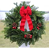 Apple Creek Traditional Balsam Fir Christmas Wreath