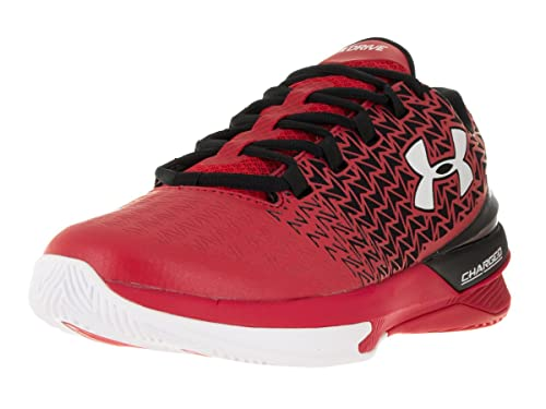7d90b03b3a4 Under Armour Men s Ua ClutchFit Drive 3 Low Basketball Shoes Red Black White  11.5 D(M) US  Buy Online at Low Prices in India - Amazon.in