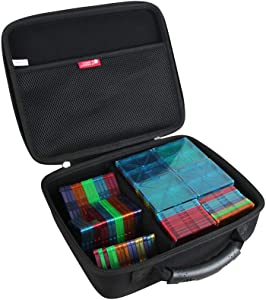 Hermitshell Hard Travel Case for Clear Colors 100 Piece Set