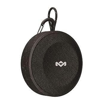 House of Marley No Bounds Altavoz inalámbrico Bluetooth, Tiempo de reproducción de hasta 10 Horas, Resistente al Polvo a Prueba de Agua, Negro: Amazon.es: ...