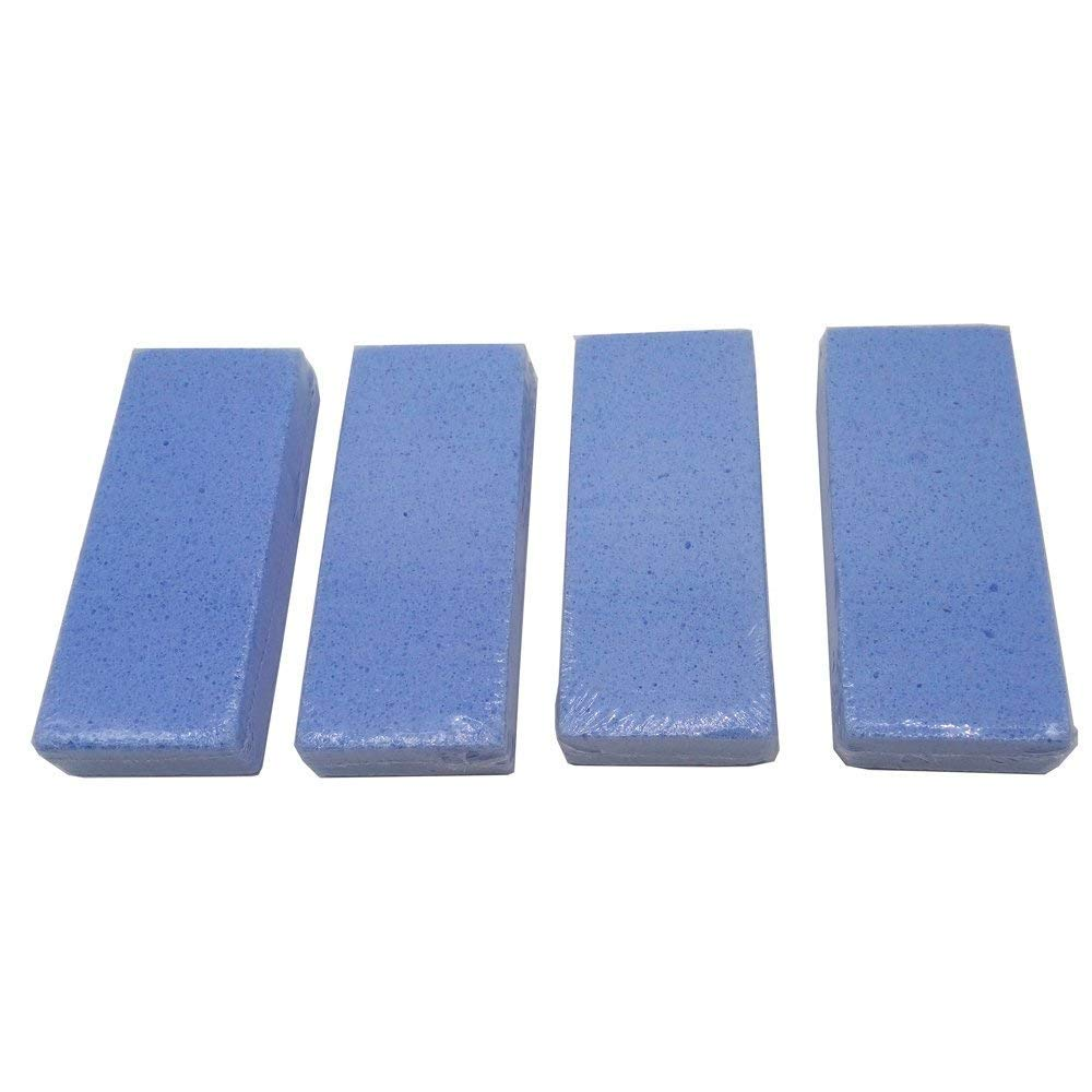 Kaptin 6 Pack Portable Pumice Stone for Feet, Hands and Body, Premium Foot File & Scrubber, Blue