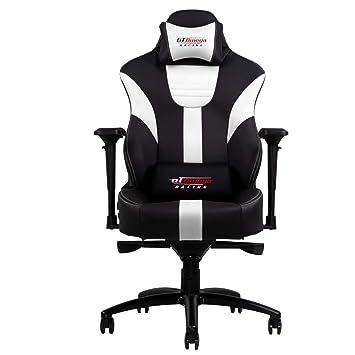 GT Omega Master XL Chaise De Jeu Avec Support Lombaire
