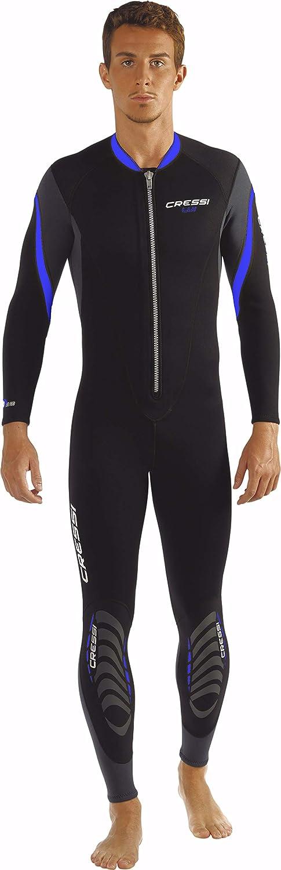 Einteiliger Herren-Neoprenanzug aus Neopren 2,5 mm Cressi Lui All-in-one Wetsuit