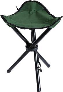 WinnerEco Folding Tripod Stool Slacker Chair,Portable Stool Foldable Three-Legged Stool for Camping Fishing Hiking