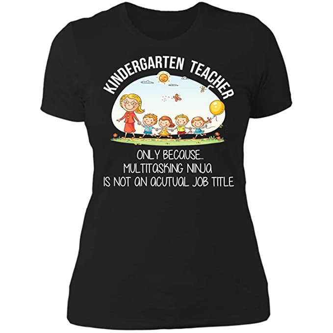 Amazon.com: Kindergarten Teacher Team Aka Multitasking Ninja ...