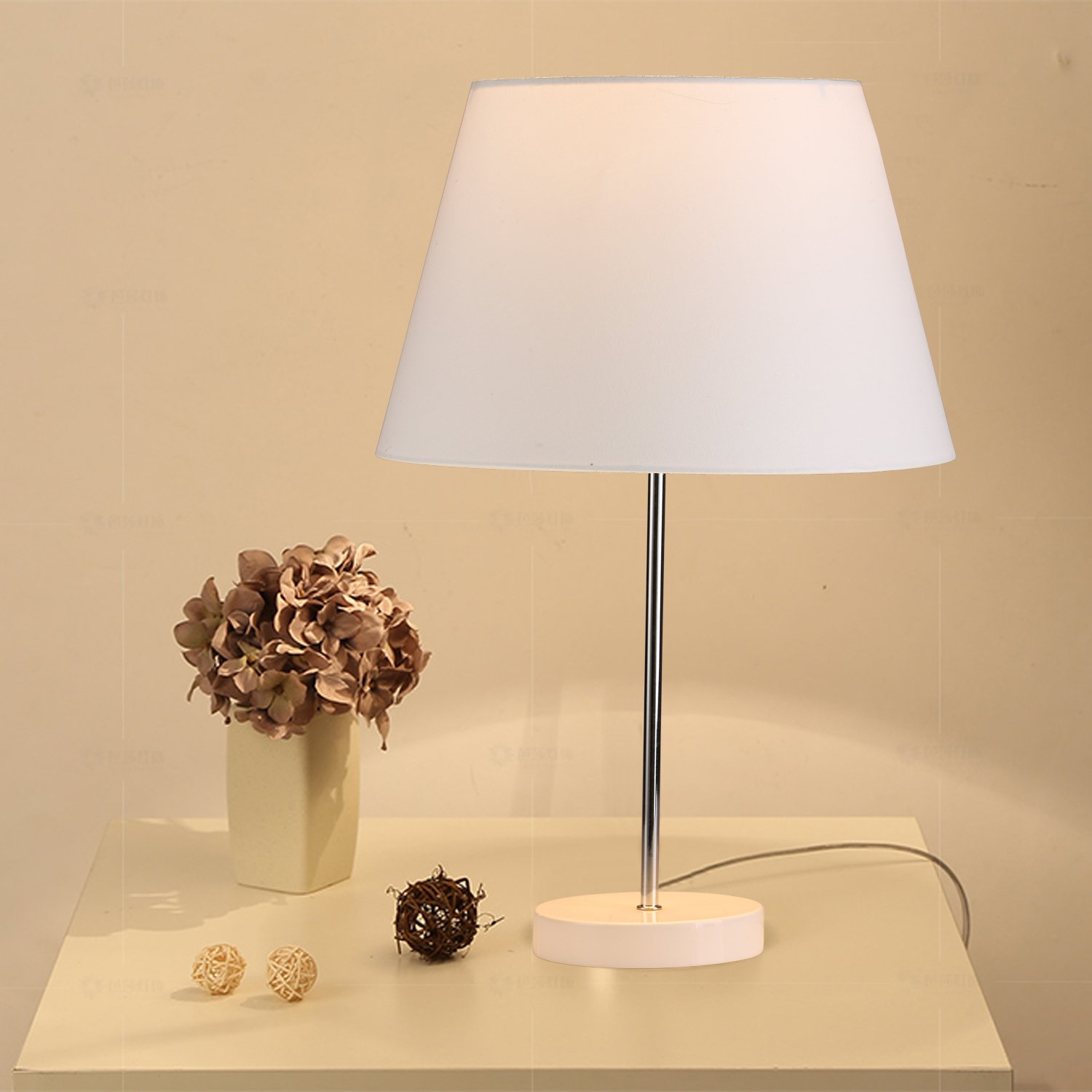 b22a8f87674 Lamp Shade IMISI Desk Lamp Table Lamp Shade Linen Fabric White Reading Lamp  Shades 7.9 X 7.5 X 11.8 Inch Dining Standing White Lamp Shades for Men