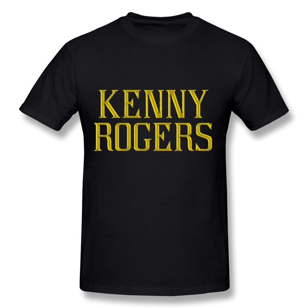 Kenny Rogers Once Again Its Christmas Fan Logo T Shirt For Men Black ...