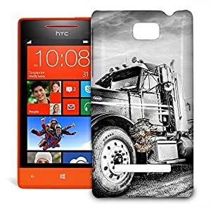 Phone Case For HTC 8S - American Trucker Snap-On Premium