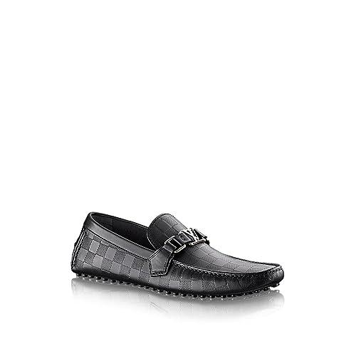 4a8a870f5 Louis Vuitton - Mocasines de Otra Piel para Hombre Negro Onyx: Amazon.es:  Zapatos y complementos
