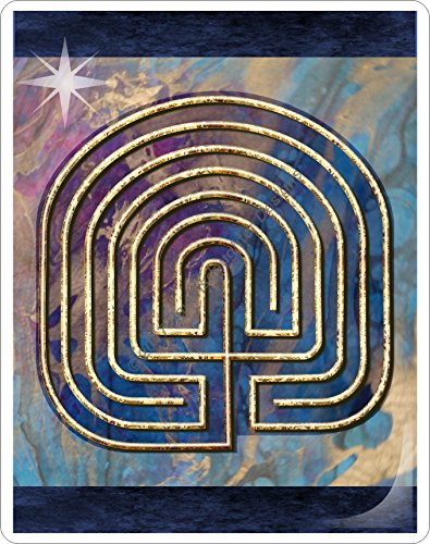 Finger Labyrinth Laminated Card 6-Pack 2: Focus Tools for Stress, Anxiety, PTSD, ADHD & Autism by Mandalynths (Image #6)