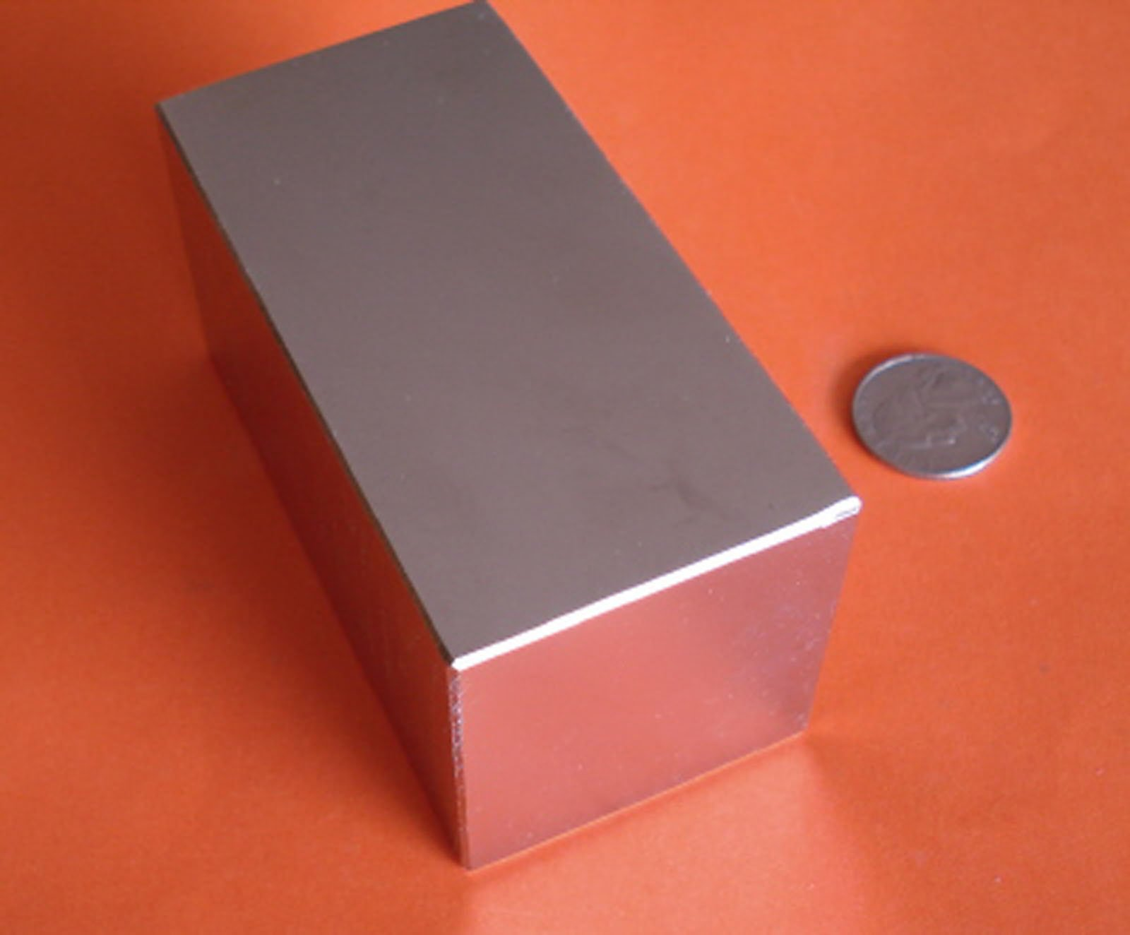 Super Strong Neodymium Magnet N48 4 x 2 x 2'' Permanent Magnet Bar, The World's Strongest & Most Powerful Rare Earth Magnets by Applied Magnets