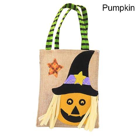 Delisouls Halloween Bolsas de Dulces, Calabaza Bruja ...