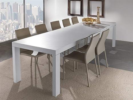 Emporio3 Tavolo da cucina allungabile in legno Alben - SG708, cm 80 ...