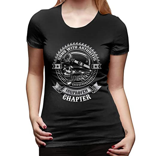 d7c793ad4f0 Image Unavailable. Image not available for. Color  God Better Women s T-Shirt  Sons with Arthritis Ibuprofen Chapter Classic T Shirts ...