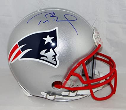 be5b565cb Amazon.com  Tom Brady Signed New England Patriots F S Authentic ...