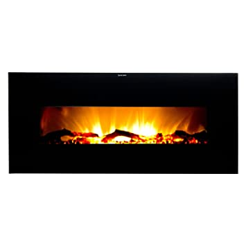 Amazon.com: Frigidaire VWWF-10306 Valencia Widescreen Wall Hanging Electric Fireplace with Remote Control - Black: Home & Kitchen