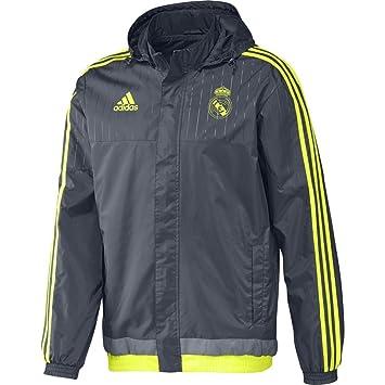 adidas Herren Jacke REAL ALLW Jacket, Gelb, M, 4055011298379