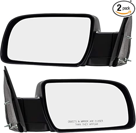 Chevy Pickup Truck C//K Manual Sport Rear View Mirror Left /& Right Side SET PAIR