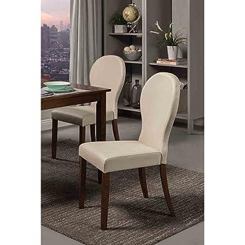 Amazon.com: Coaster Home Furnishings 120362 silla de comedor ...