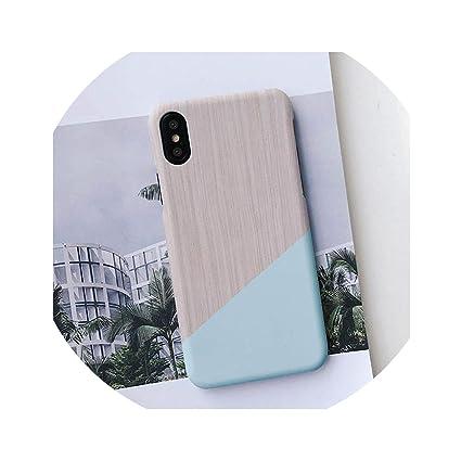Amazon.com: Carcasa rígida para iPhone X 8 7 6 6S Plus ...