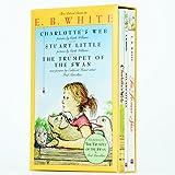 [英文原版] 夏洛的网 Charlotte's Web 精灵鼠小弟(斯图尔特鼠小弟)Stuart Little 吹小号的天鹅 The Trumpet of the Swan 三册套装 儿童英语学习教程教材 课外阅读书 儿童经典文学 [平装] [Jan 01, 2000] E•B•怀特 (E. B. White) [平装] E•B•怀特 (E. B. White) [平装] E•B•怀特 (E. B. White)
