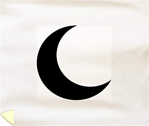 amazon com lantern press crescent moon vector icon a 9014406 88x104 king microfiber duvet cover posters prints lantern press crescent moon vector icon a 9014406 88x104 king microfiber duvet cover
