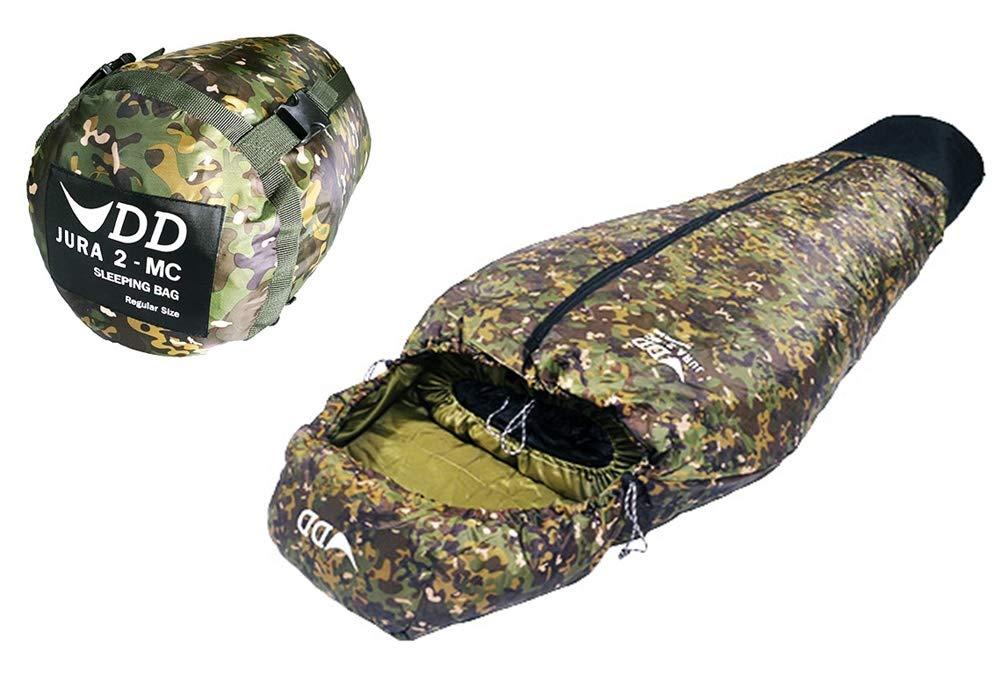DD Jura 2 - Sleeping Bag スリーピングバッグ- Regular size レギュラーサイズ - MC 濡れた靴のまま着用できるハンモック用寝袋 DDマルチカムヴァージョン [並行輸入品] B07H41D11B