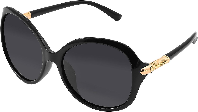Butterfly Framed Oversized Polarized Sunglasses For Women UV400 By SunnyPro