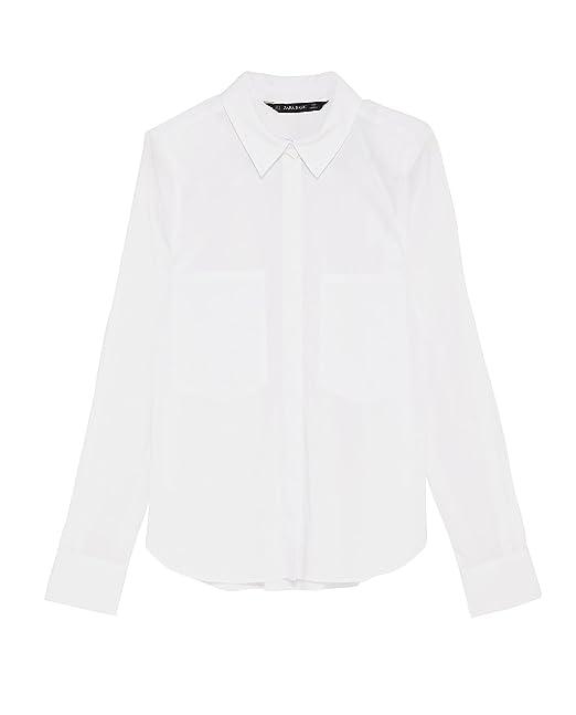 Zara Camisas - Para Mujer Bianco Large