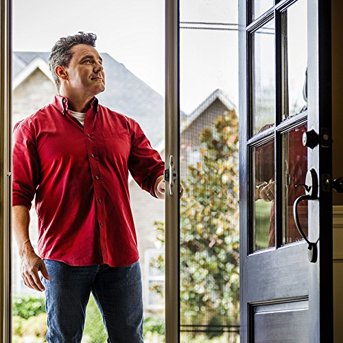 ODL Brisa Premium Retractable Screen for 96 in. Inswing/Outswing Hinged Doors - Sandstone by ODL (Image #6)