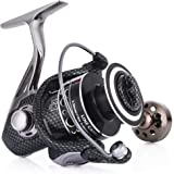 Sougayilang Fishing Reel Spinning 11+1bb Left/Right Interchangeable Spinner Gear High Speed Smooth Bass Fishing Reels